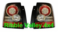RANGE ROVER SPORT REAR LED TAIL LIGHTS GENUINE UPGRADE LAMPS BLACK INSERTS LR043994 LR043996